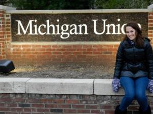 First visit to Michigan!