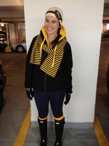 All geared up for football!