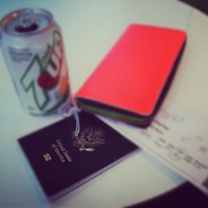 Ticket: Check. Passport: Check. Diabetic-Celiac Friendly Refreshments: Check. I was set.